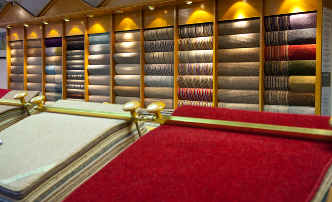 Twist Pile Showroom