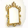 Christopher Guy Gold Frame Hand Carved Mirror