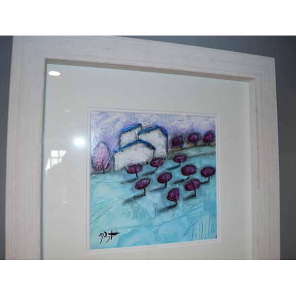 Richard Pargeter Aqua Vista III Framed