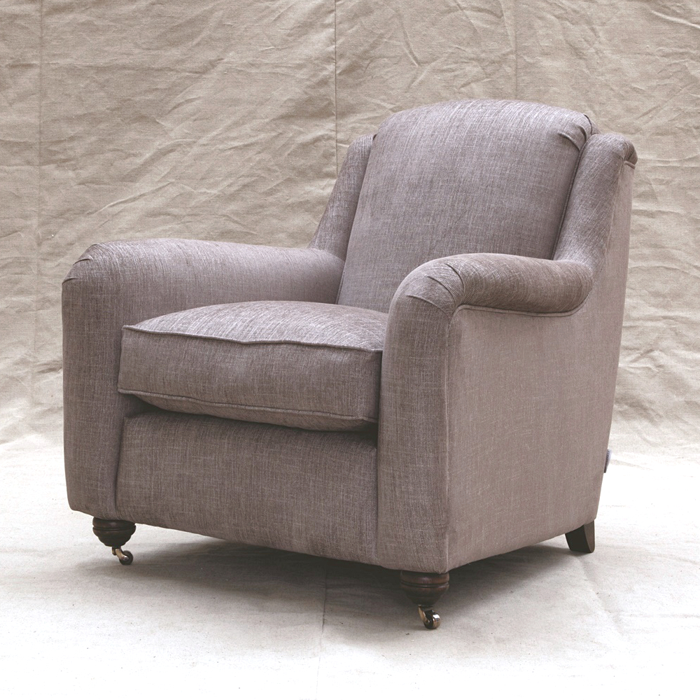 John sankey elgar chair kings interiors for Best quality upholstered furniture