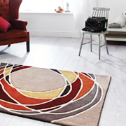 Hand Tufted Acrylic. Kings Interiors for the best Flair Rugs prices online and instore.