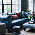 Alexander and James Sofas Ingrid Range from The Escape Collection at Kings Interiors - Quality Handmade Home Upholstery Retailer based in Nottingham. Best Prices and Free Delivery in the UK