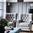 Alexander and James Sofas Sofia Chair Collection at Kings Interiors - Quality Handmade Home Upholstery Retailer based in Nottingham. Best Prices and Free Delivery in the UK