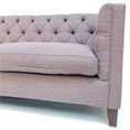 Contrast Upholstery Battersea Midi Sofa in Fabric or Leather at Kings of Nottingham.