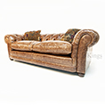 Contrast Upholstery Norton Midi Chesterfield Sofa