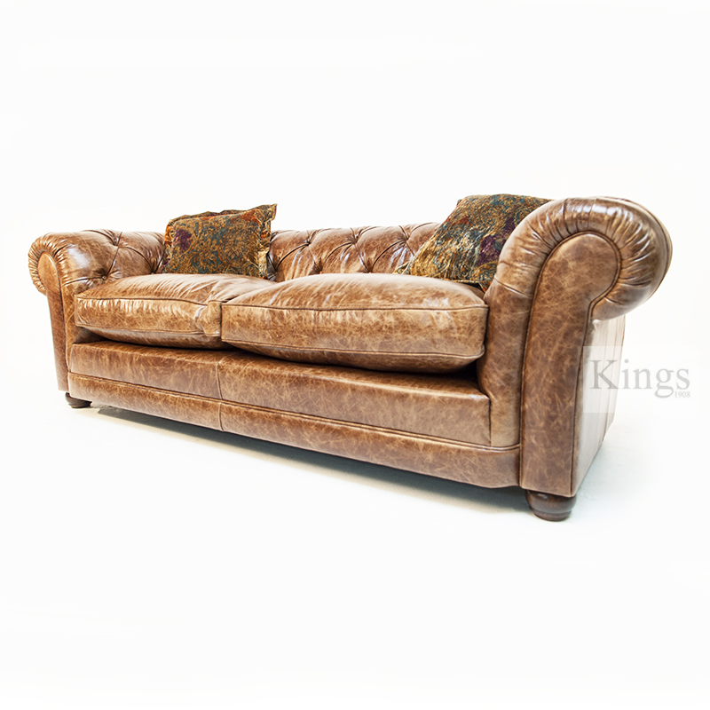 Contrast Upholstery Norton Petit Chesterfield Sofa