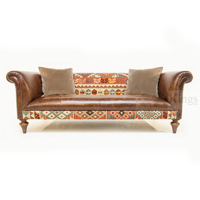 Contrast Upholstery Tegan Sofa