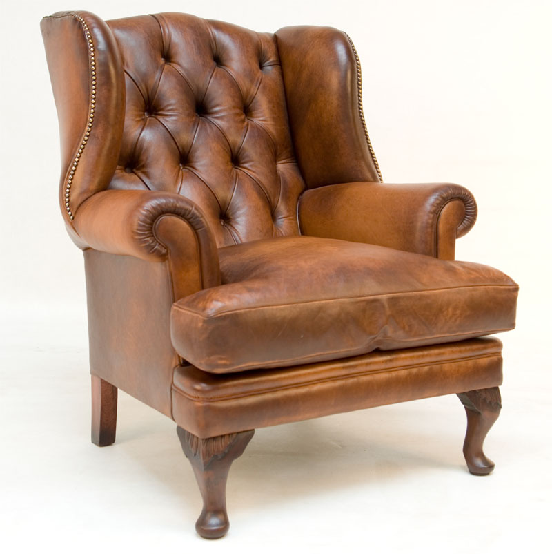Contrast Upholstery Beaufort Wing Chair