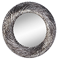 Deknudt Decora Flow Silver Mirror 2728.161