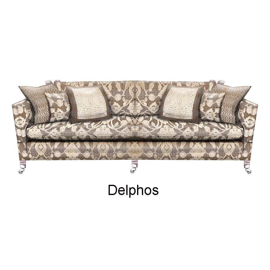 Duresta Trafalgar 3 Seater Sofa Cushion Back