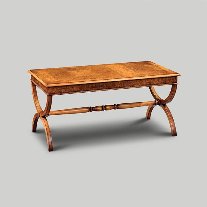 Iain James Furniture Amc171 Walnut Scissor Leg Coffee Table