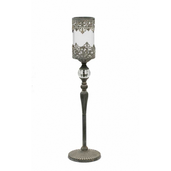 Pin votive candle holders wholesale on pinterest for Cheap tall candlestick holders