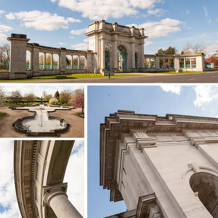 Trent Embankment Memorial Gardens