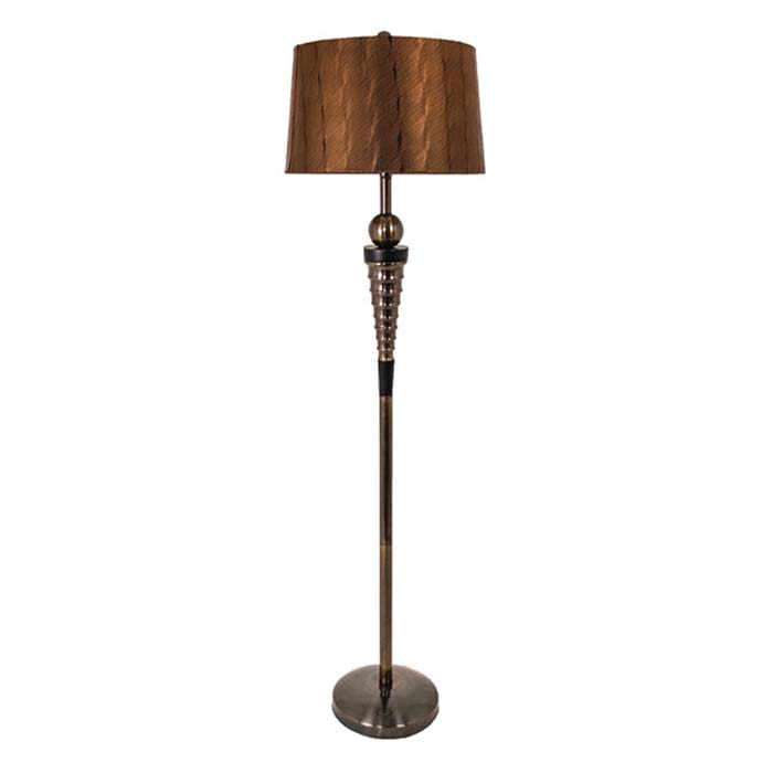 lighting floor lamps r v astley haven dark antique brass floor lamp. Black Bedroom Furniture Sets. Home Design Ideas