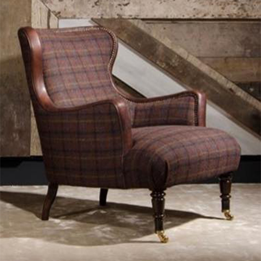 Tetrad Upholstery Harris Tweed Nairn Chair