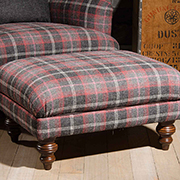 Tetrad Harris Tweed Braemar Stool