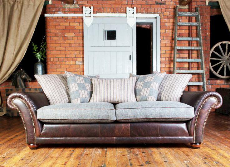 Tetrad Upholstery Harris Tweed Carloway Midi Sofa
