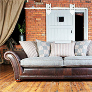 Tetrad Upholstery Harris Tweed Carloway Midi Sofa at Kings Interiors for the finest upholstery at the best price.