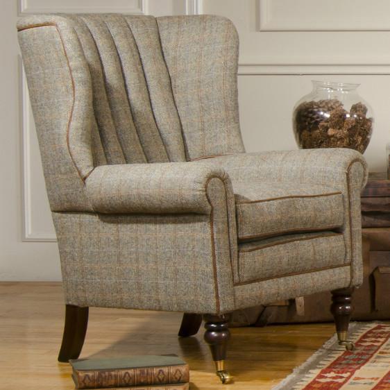 Tetrad Upholstery Harris Tweed Dunmore Chair