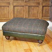 Tetrad Upholstery Harris Tweed Taransay Stool