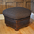 Tetrad Harris Tweed Stornoway Stool