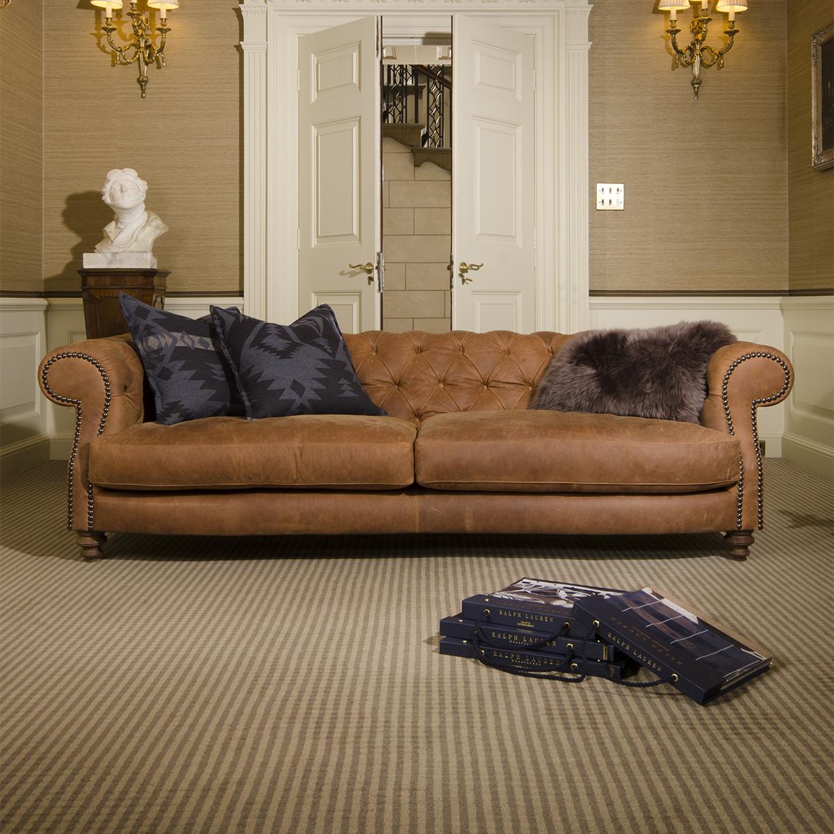 Ralph Lauren Living Room Furniture Tetrad Upholstery Grand Madison Chesterfield In Ralph Lauren