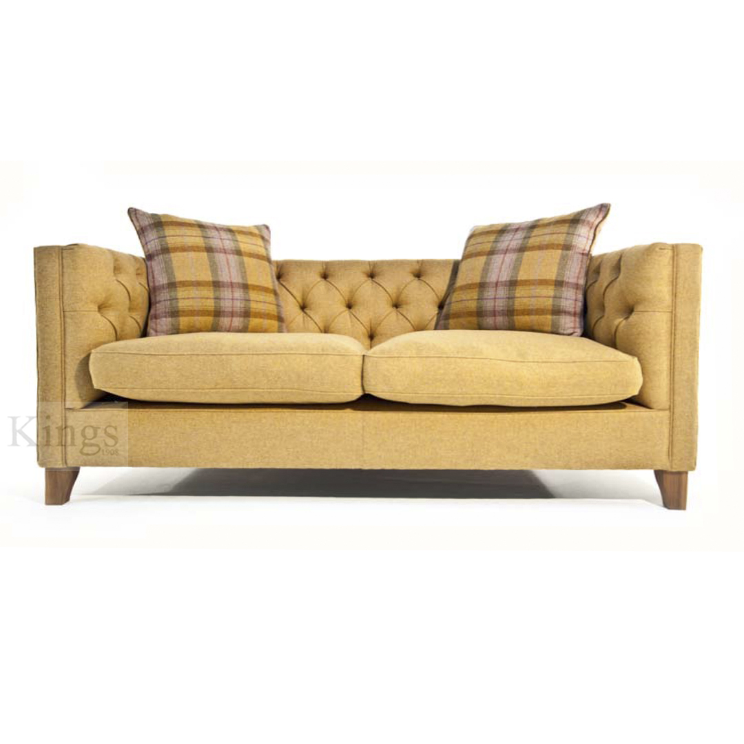 Tetrad Upholstery Battersea Midi Sofa In Fabric Or Leather