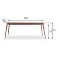 Buy the Vincent Sheppard Lloyd Loom Berlin Table TA B59 at Kings the home of Lloyd Loom at the best online prices