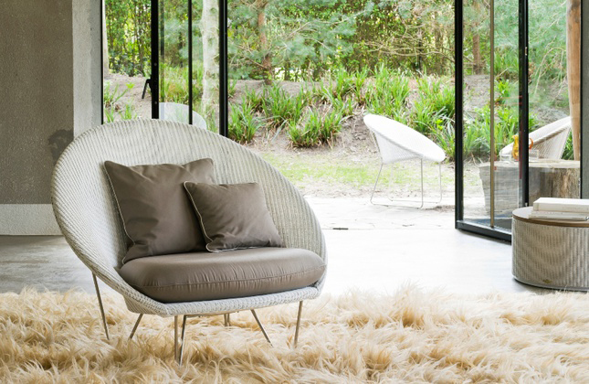 Vincent Sheppard Lloyd Loom Joe Lounge Chair CH E41