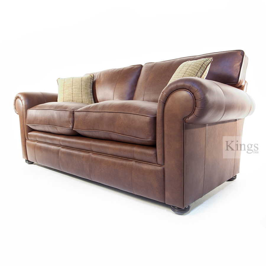 Wade Upholstery Barnaby Grand Scatter Back Sofa Leather