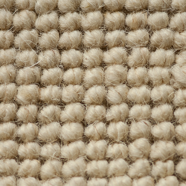 Wool Loop Rug: Rustic Weave Wool Loop Pile 1406