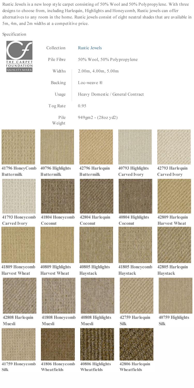 Victoria Carpets Rustic Jewels