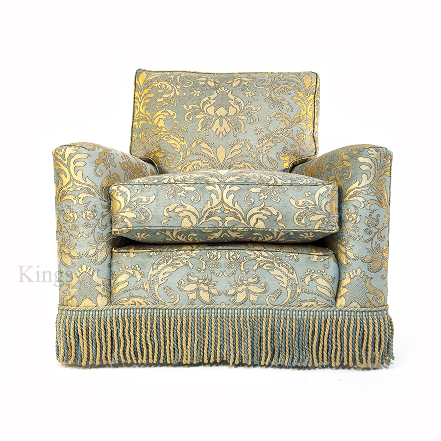 Duresta Diplomat Three Seater Sofa and Chair 2