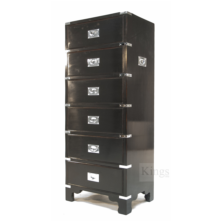 Reh Kennedy Cd Storage Six Drawer Cabinet