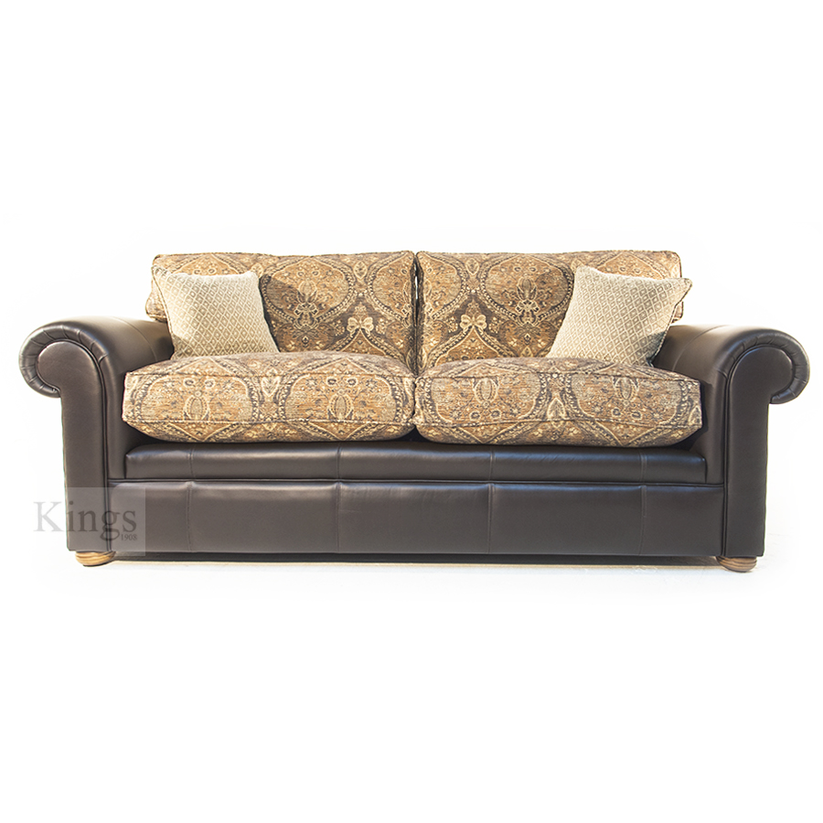 Wade Upholstery Barnaby Grand And Large Sofa With Two Chairs