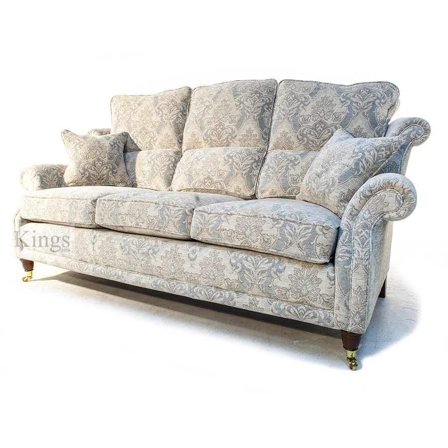 Wade Upholstery Hollinwell Three Seater Sofa In Floral Fabric