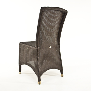Lloyd Loom Vincent Sheppard Richmond Dining Chair in Chocolate
