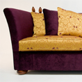 The Clement Knole at kings of Nottingham for the largest collection of Knole sofas.