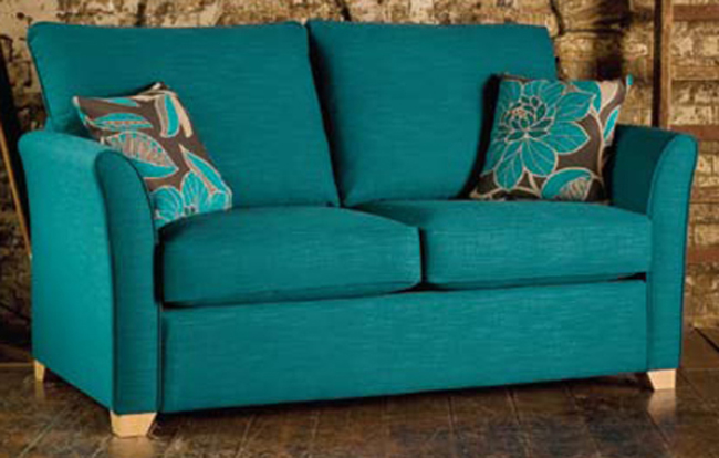 Teal sofa bed my blog for Teal sofas for sale