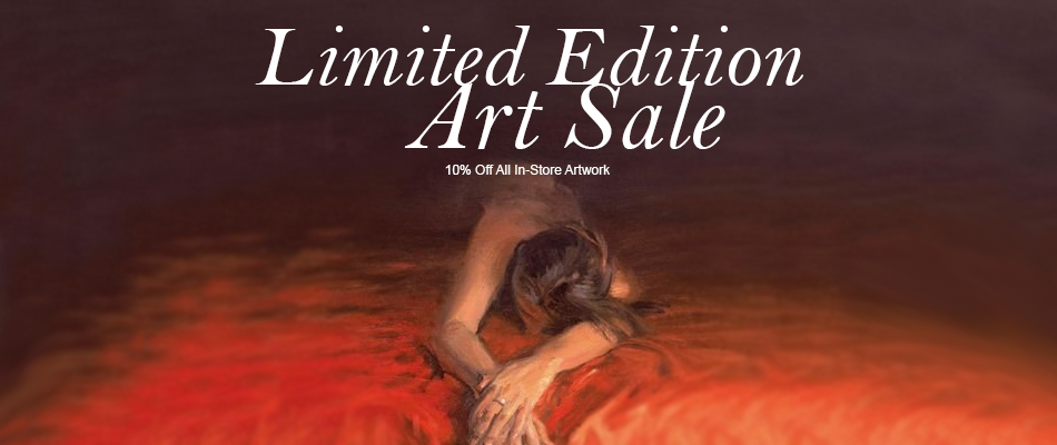 Limited Edition Artwork Sale - 10% Off!