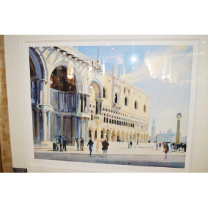 Bob Rudd - Doges Palace, San Marco (Framed)