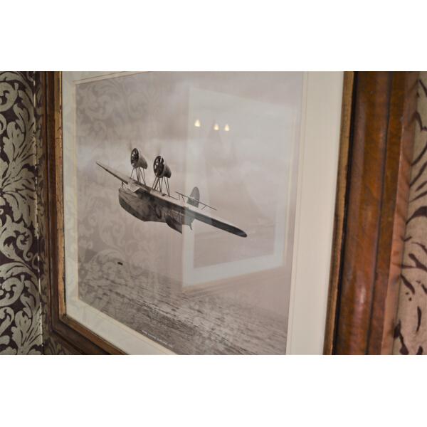 Saro Chinese Seaplane 1932 Beken Of Cowes Framed Photo
