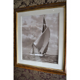 Velsheda 1934 - Beken of Cowes Framed Photo