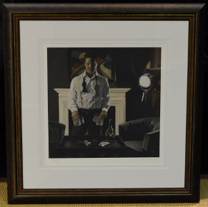 Iain Faulkner - Poker Night (Framed) 1