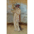 James Abbott Mcneill Whistler - Blue and Gold: The Rose Azalea (Framed) - Limited Edition Artworks at Kings Carpets and Interiors
