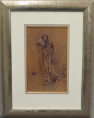 James Abbott Mcneill Whistler - Blue and Rose: The Open Fan (Framed) 1