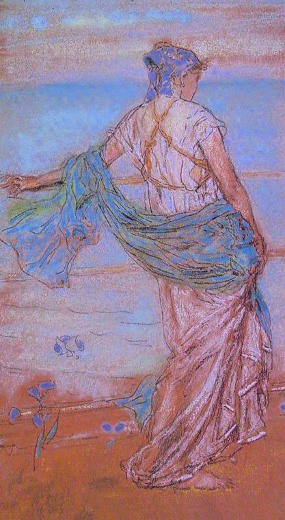 James Abbott Mcneill Whistler Annabel Lee Framed Kings