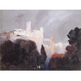 Hercules Brabazon Brabazon - A Calabrian City (Framed) - Limited Edition Artworks at Kings Interiors Nottingham