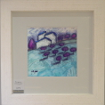 Richard Pargeter Aqua Vista Original Oil Painting 2 (Framed) 2