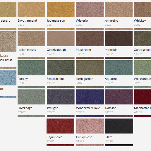 Brintons Bell Twist Heavy Domestic Carpet Swatch 2